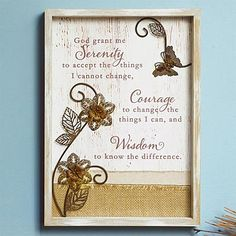 Treasure vision-style print is crafted of whitewashed wood featuring a barn wood look. Adorned with authentic burlap, canvas fabric and antique metal embellishments. Ready to hang. Little Prayer, Serenity Prayer, Whitewash Wood, Wood Plaques, Antique Metal, Canvas Fabric, Burlap Canvas, God Is Good, Christian Faith