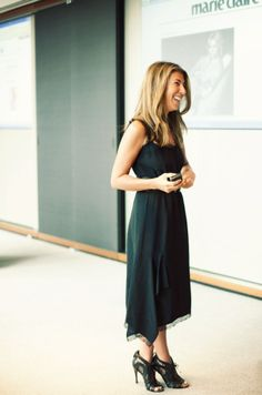 Editor Nina Garcia keeps her outfits flexible for easy day to night transitioning // Outfit Ideas For Your 40s