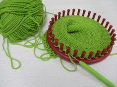 loom knitting | Loom Knit Hat
