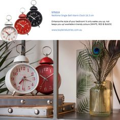 Boyle NeXtime Home Decor Stylish Indoor Clock Classy Round