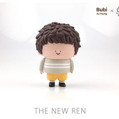 "Fluffy House x Bubi Au Yeung - 4.5"" The New Ren (Original Colour) – Collect and Display"