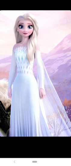 Elsa with open hair and beautiful dress Frozen Disney, Princesa Disney Frozen, Elsa Frozen, Frozen Movie, Disney Princess Fashion, Disney Princess Pictures, Disney Princess Drawings, Disney Princess Art, Images Of Princess