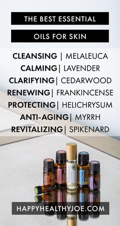 The Best Essential Oils For Skin