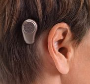 The newest hearing aid device from Oticon. Pretty cool technology.