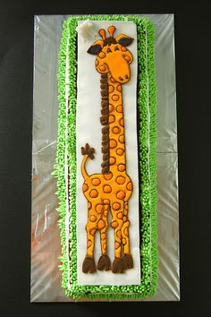 My sister& birthday cake Giraffe Birthday Cakes, Sister Birthday Cake, Giraffe Cakes, Giraffe Party, Giraffe Print, Animal Cakes, Occasion Cakes, Cakes For Boys, Love Cake