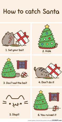 How NOT to catch Santa