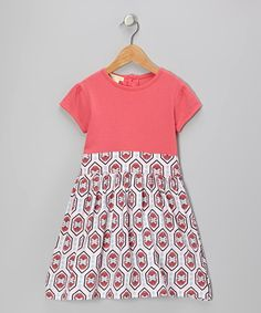 Take a look at this Pink Organic Puff-Sleeve Ballet Dress - Infant, Toddler & Girls by violet + moss on #zulily today!