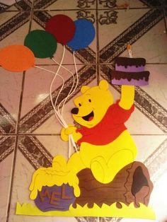 Decoração de sala de aula Ursinho Pooh