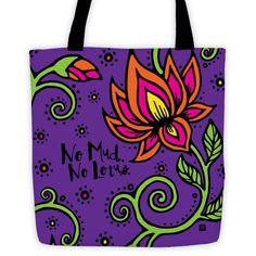 No Mud. No Lotus. - Tote bag