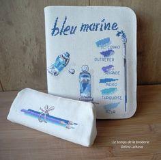 Тюбики с морскими красками