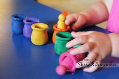 Make Your Own Wood Peg Dolls Matching Set- from @Stacy @ShareRemember