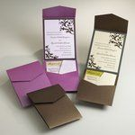 Discover the best ideas for Invitations & Stationery! Read articles and watch videos about Invitations & Stationery. Classy Wedding Invitations, Wedding Invitation Envelopes, Wedding Stationary, Purple Invitations, Invitation Ideas, Invites, Invitation Layout, Event Invitations, Wedding Paper