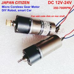DC 3V~6V 33RPM Slow Speed Mini 20mm Full Metal Gearbox Gear Motor DIY Robot Car