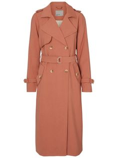 LANG TRENCHCOAT, Cedar Wood