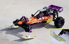 HPI Baja 5B Baja Ski Kit RC Car R/