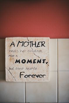 Mom quote on wall Mom Quotes, Wall Quotes, Say That Again, Projects To Try, Card Making, Scrapbooking, In This Moment, Cards, Momma Quotes