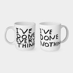 David Shrigley I've Done Everything Mug | MoMAstore.org
