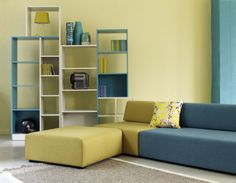 Mix and match colours on modular sofa range, Haris #Habitat