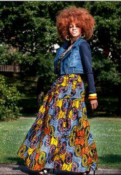 ++iwearthat++ African print maxi skirt http://zanjoo.com/wp-content/uploads/2014/08/African-Wax-Print-Maxi-Dress-.jpg