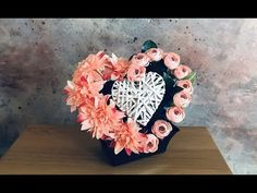 Headdress for the cemetery // HEART // For a small grave // Peonies – World of Flowers Fake Flowers, Headdress, Cemetery, Peonies, Floral Wreath, Make It Yourself, Heart, Youtube, Flower Arrangements Simple