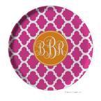 Monogram plates! $25 from LipstickShades :) Love