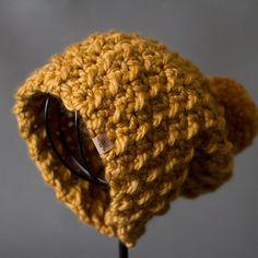 CROCHET HAT PATTERN Woodland Slouchy Hat by PrettyDarnAdorable