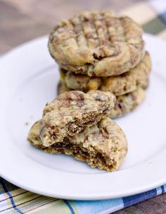 Erica's Sweet Tooth » Peanut Butter Nutella Swirl Cookies