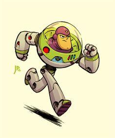 Buzz Lightyear by Jake Parker