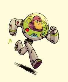 Buzz Lightyear by Jake Parker