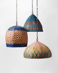 Boho lamp shades lighting interior best lighting and lanterns images on cha Home Lighting, Pendant Lighting, Pendant Lamps, Luminaria Diy, Deco Boheme, Style Deco, Lamp Shades, Handmade Home, Basket Weaving