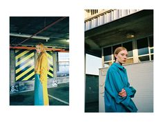 Left: Coat, Salwa McGill; dress, Stephanie Davidson. Right: Jacket and shirt, both Stephanie Davidson. Styling: Alexandra Fiddes Photographs: Igor Termenon