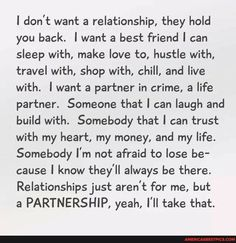 True Quotes, Great Quotes, Quotes To Live By, Inspirational Quotes, Dont Need A Man Quotes, Motivational Sayings, Flirting Quotes, Life Partners, Partners In Crime