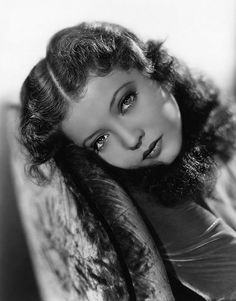 Sylvia Sidney, the saddest eyes in Hollywood.