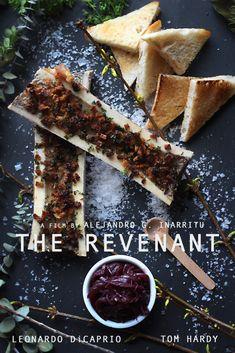 The Revenant: Roasted Bone Marrow with Onion Jam Recipe