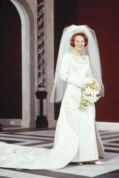Vijftig jaar geleden, Prinses Beatrix de Bruid. 10-3-2016