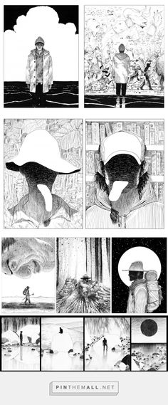 [超 단편만화] SURREAL SHORTCOMICS_workshop on Behance... - a grouped images picture - Pin Them All