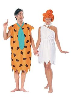 Fred und Wilma Feuerstein Kostüm Set - New Ideas Wilma Flintstone Costume, Fred And Wilma Flintstone, Flintstones Costume, Halloween Tags, Disney Halloween, Halloween 2020, Halloween Ideas, Days Until Halloween, Halloween Carnival