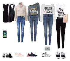 """""""Клэп"""" by ms-lelyuk ❤ liked on Polyvore featuring Roland Mouret, Posh Girl, Hogan, adidas Originals, 7 For All Mankind, New Balance, EAST and Casetify"""