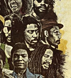 Legends of Reggae Poster on Behance