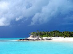 Deserted Island near Providenciales Turks and Caicos Caribbean