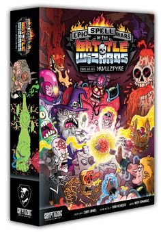 Epic Spell Wars of the Battle Wizards: Duel at Mt. Skullzfyre | Cryptozoic Entertainment