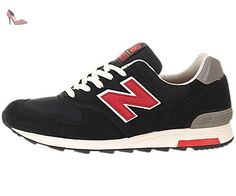NEW BALANCE - Baskets basses - Homme - Sneakers 1400 Made In US Suede Noir pour homme - US 9.5 - Chaussures new balance (*Partner-Link)