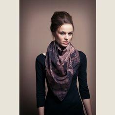 Tuch mit Holz Print arts by *katharinaschaffer* Fashion, Silk, Timber Wood, Cotton, Moda, Fashion Styles, Fashion Illustrations