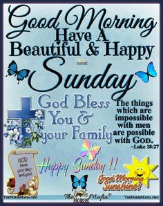 Blessed Sunday Quotes, Tuesday Quotes Good Morning, Sunday Prayer, Happy Sunday Morning, Sunday Wishes, Good Morning Prayer, Morning Love Quotes, Good Morning Texts, Morning Greetings Quotes