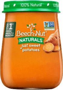 Beech-Nut® baby food—cereals, jars, pouches, snacks and Cereal Recipes, Baby Food Recipes, Banana Baby Food, Baby Cereal, Baby Food Jars, Gerber Baby, Toddler Snacks, Meals In A Jar, Baby Foods