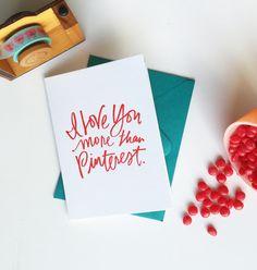 Pinterest Love Card