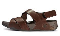 1678ec90a Mens FitFlop Lexx Navajo Brown Sandal Clearance