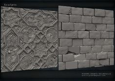 ArtStation - Tilable Textures Sheet, Pierre-Dante Delboulle