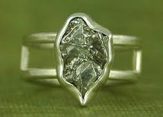 meteorite ring/engagement