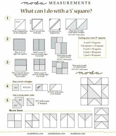 What to do w/ a 5 inch square